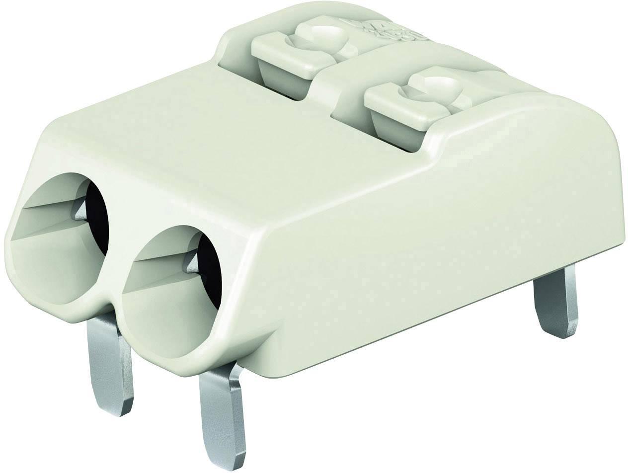 Svorkovnice pro desku plošných spojů 2 WAGO 2060-1402/998-404, AWG 24-18, světle zelená