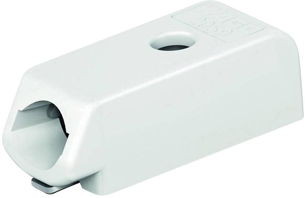 Pružinová svorka WAGO 2059-301/998-403, počet pinov 1, biela, 1 ks