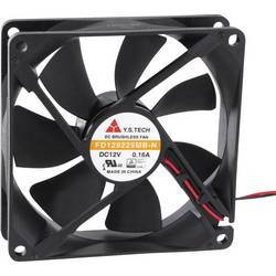 Axiální ventilátor FD129225MB-N(2N5) FD129225MB-N(2N5), 12 V/DC, 33 dB, (d x š x v) 92 x 92 x 25 mm