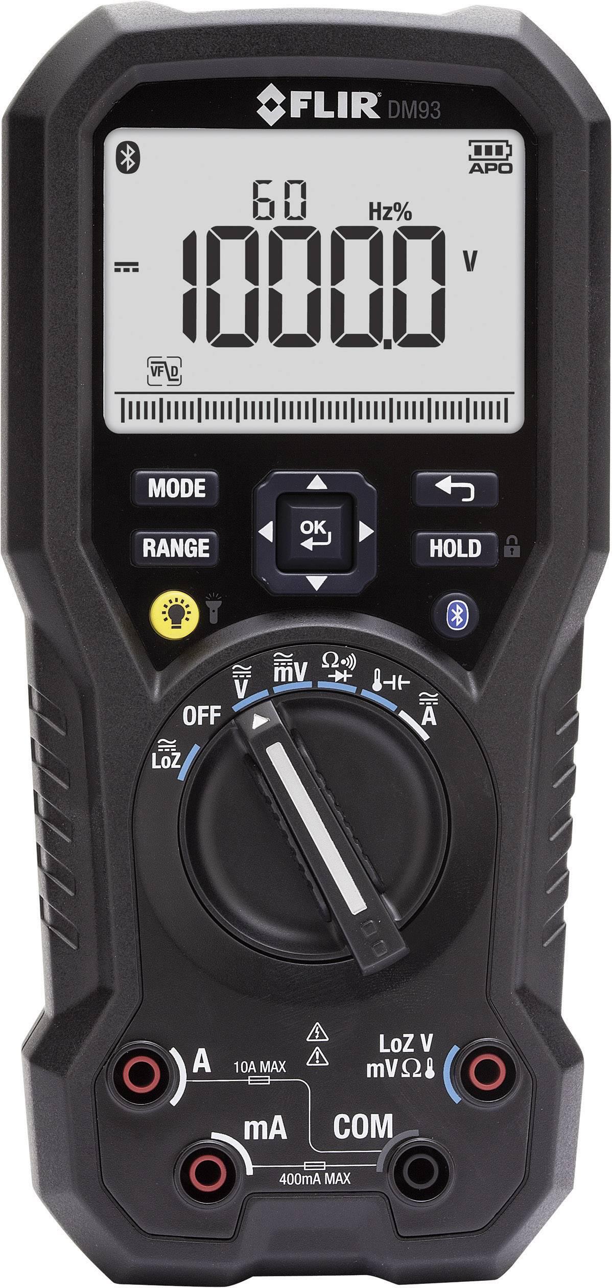 Digitálne/y ručný multimeter FLIR DM93 DM93