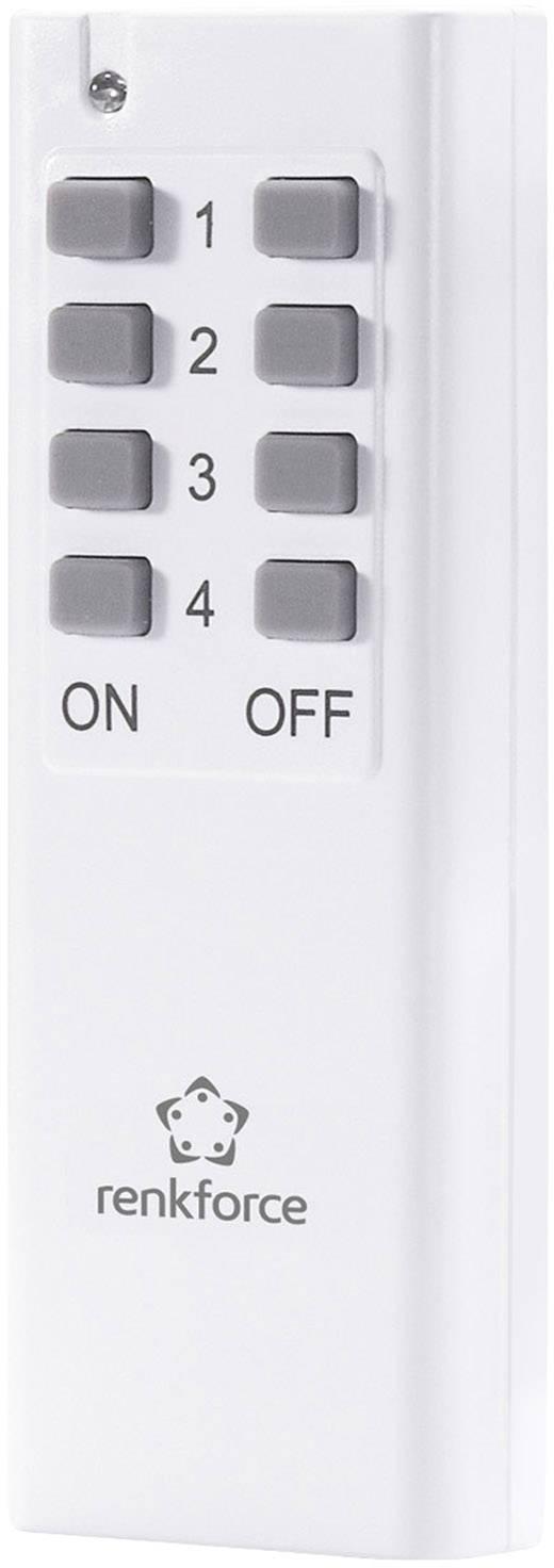 Bezdrôtové ovládanie pre spínacie zásuvky RENKFORCE