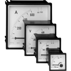 Panelové elektromagnetické meradlo Weigel EQ72K 0-500 V