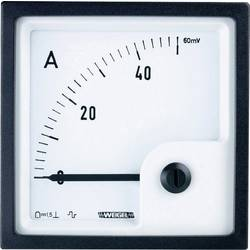 Panelové magnetoelektrické meradlo Weigel PQ72K 150 A/60 mV