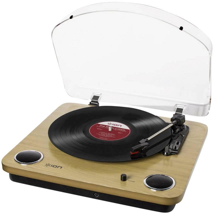USB gramofón ION Audio Max LP, s remienkovým náhonom, drevo