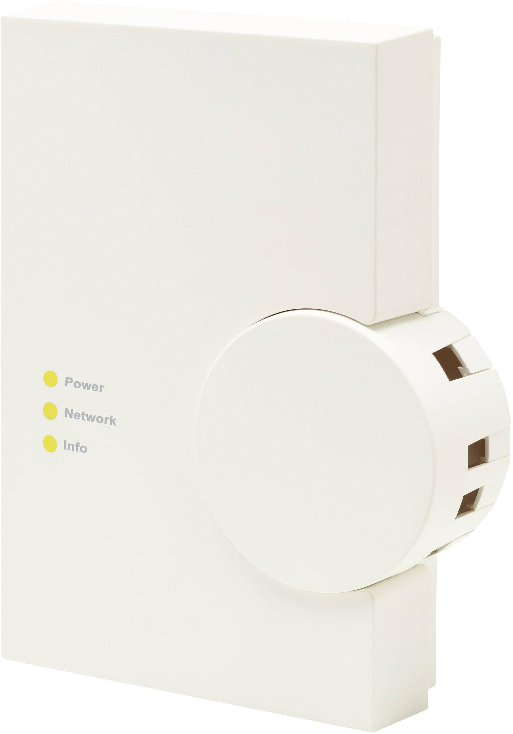 Bezdrôtový LAN gateway HomeMatic HM-LGW-O-TW-W-EU 104029, max. dosah 100 m