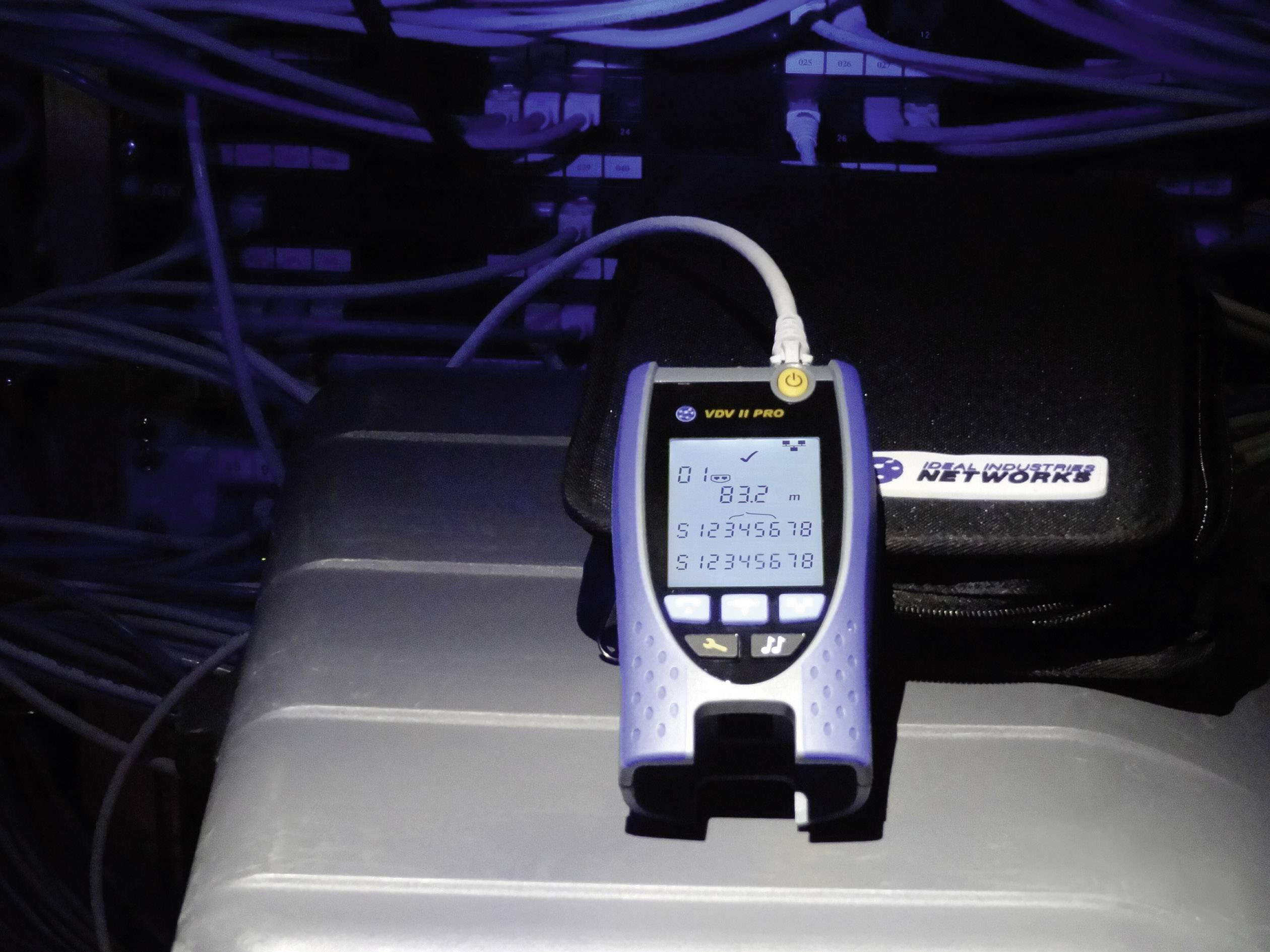 Tester inštalácie dátových, zvukových a video káblov IDEAL Networks VDV II, R158000
