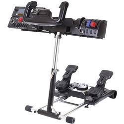 Držiak na volant Wheel Stand Pro Saitek Pro Flight Yoke System, 13084, čierna