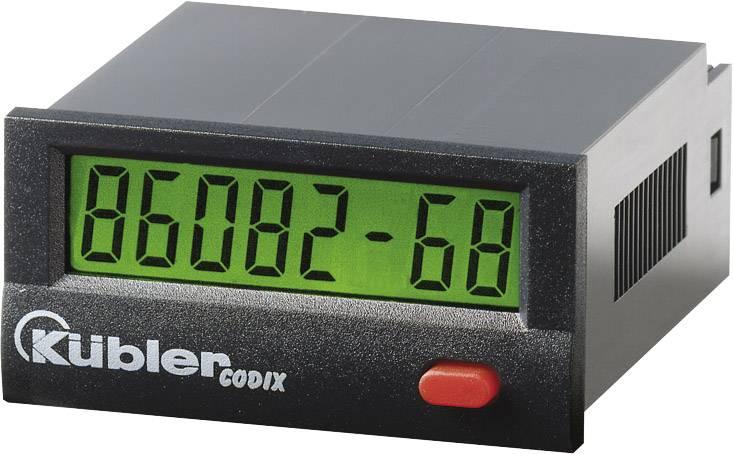 Počítadlo prevádzkových hodín Kübler CODIX 134 HB, Optokoppler 10-260V AC/DC