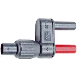 Merací adaptér Stäubli SW XF-SS/4 zabezpečená proti nechcenému dotyku, čierna, červená