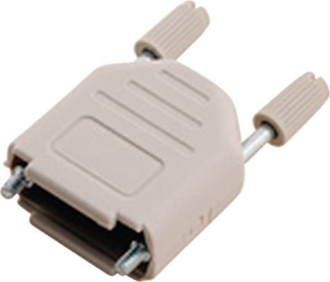 D-SUB púzdro MH Connectors MHDPPK15-LG-K 6353-0101-02, Počet pinov: 15, plast, 180 °, svetlosivá, 1 ks