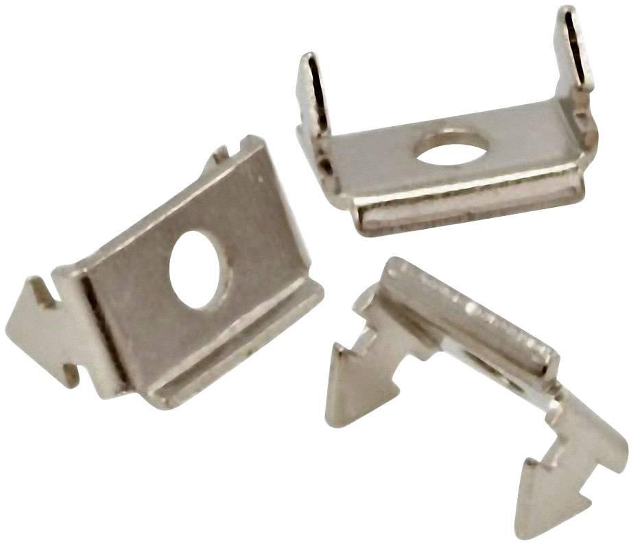 Zajišťovací kolíková hlavice MH Connectors 2802-0001-04, stříbrná, 1 ks