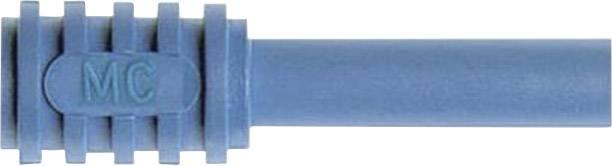 Adaptér banánek 4 mm ⇔ zásuvka 2 mm MultiContact XA-2/4, bezpečnostní, černá