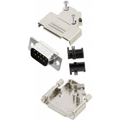 Súprava D-SUB kolíkovej lišty MH Connectors 45 °, Počet pinov 9, spájkovaný, 1 ks
