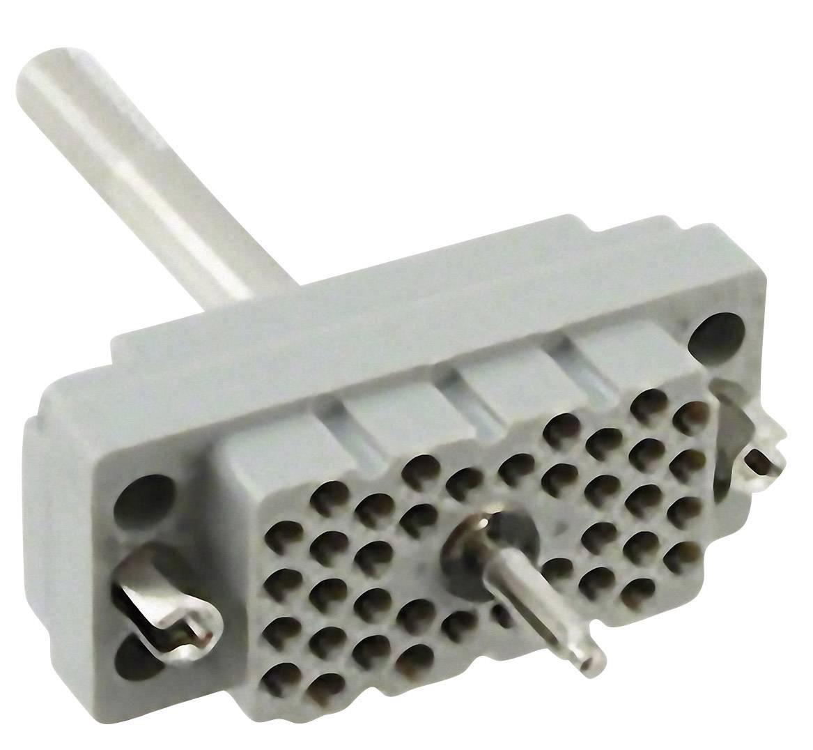 Konektorová vložka, zásuvka EDAC 516-038-000-401, počet kontaktů 38, 1 ks