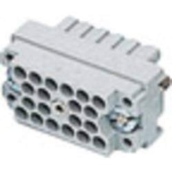 Vložka pinového konektora EDAC 516-020-000-302, 20, 1 ks