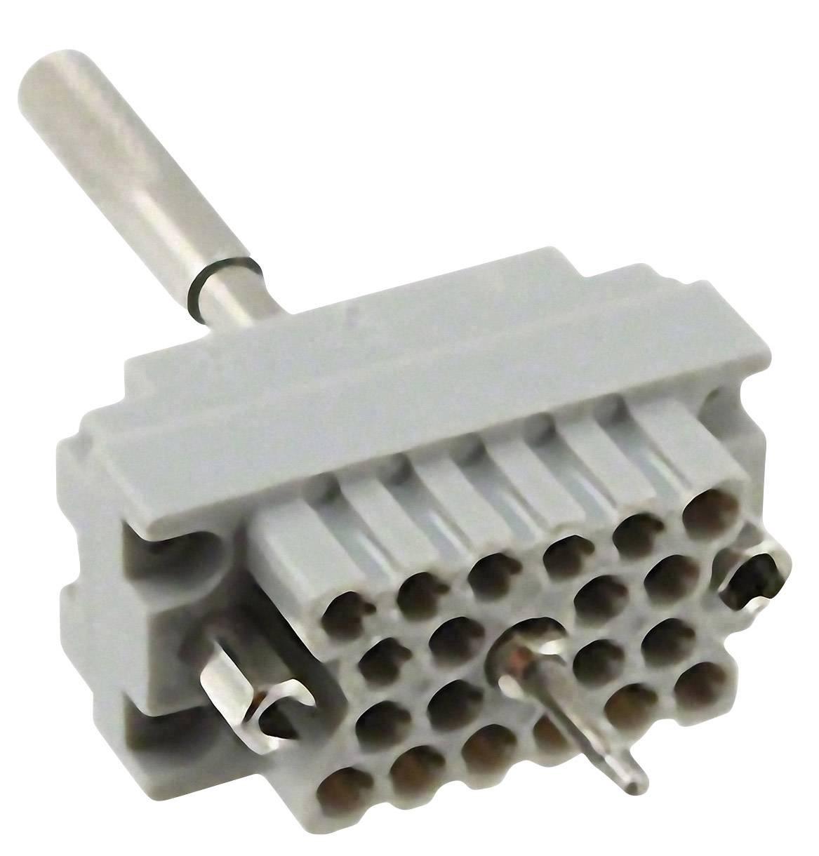 Konektorová vložka, zásuvka EDAC 516-020-000-402, počet kontaktů 20, 1 ks