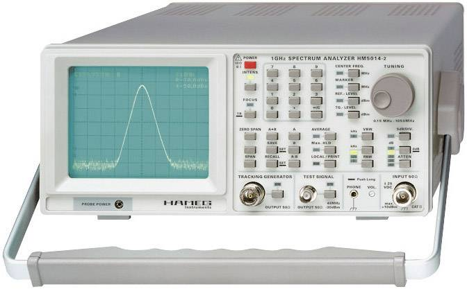 Spektrální analyzátory