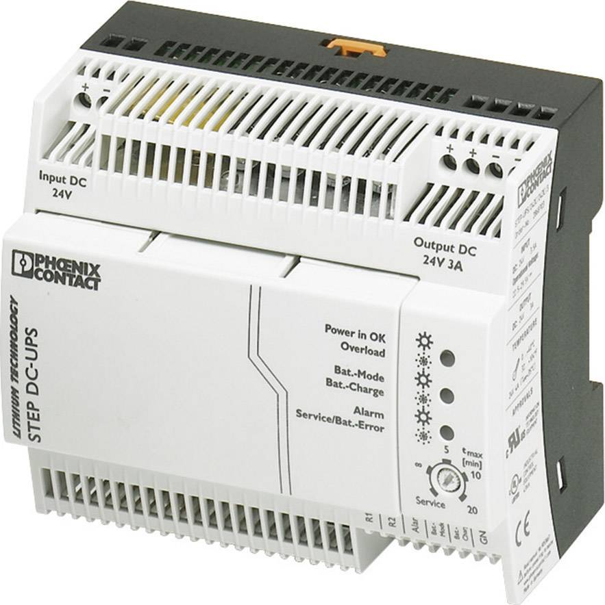 UPS do lišty Phoenix Contact STEP-UPS/24DC/24DC/3 2868703