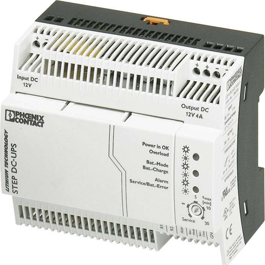 UPS do lišty Phoenix Contact STEP-UPS/12DC/12DC/4 2868693