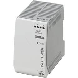 Síťový zdroj na DIN lištu Phoenix Contact UNO-PS/1AC/12DC/100W, 1 x, 12 V/DC, 8.3 A, 100 W