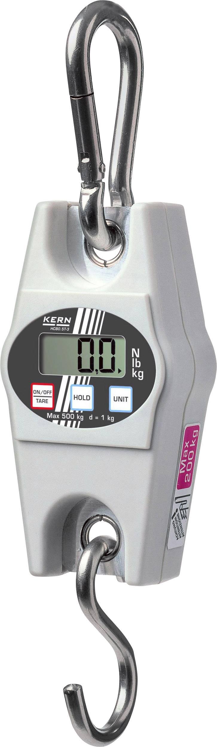 Závesná váha Kern max.váživosť 100 kg, presnosť 200 g