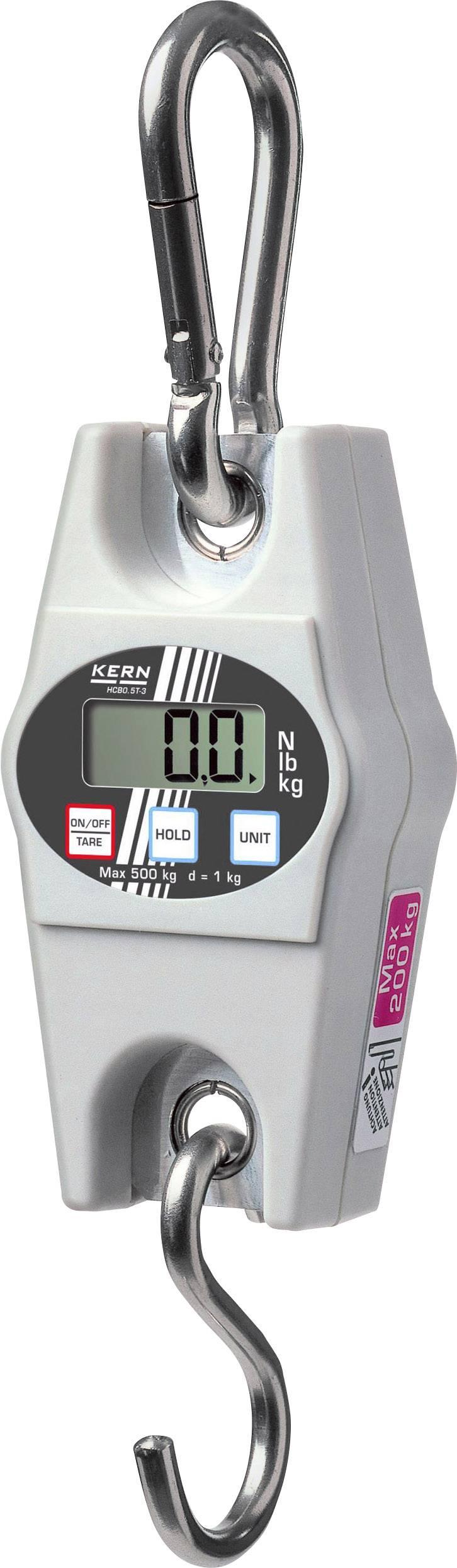 Závesná váha Kern max.váživosť 200 kg, presnosť 500 g