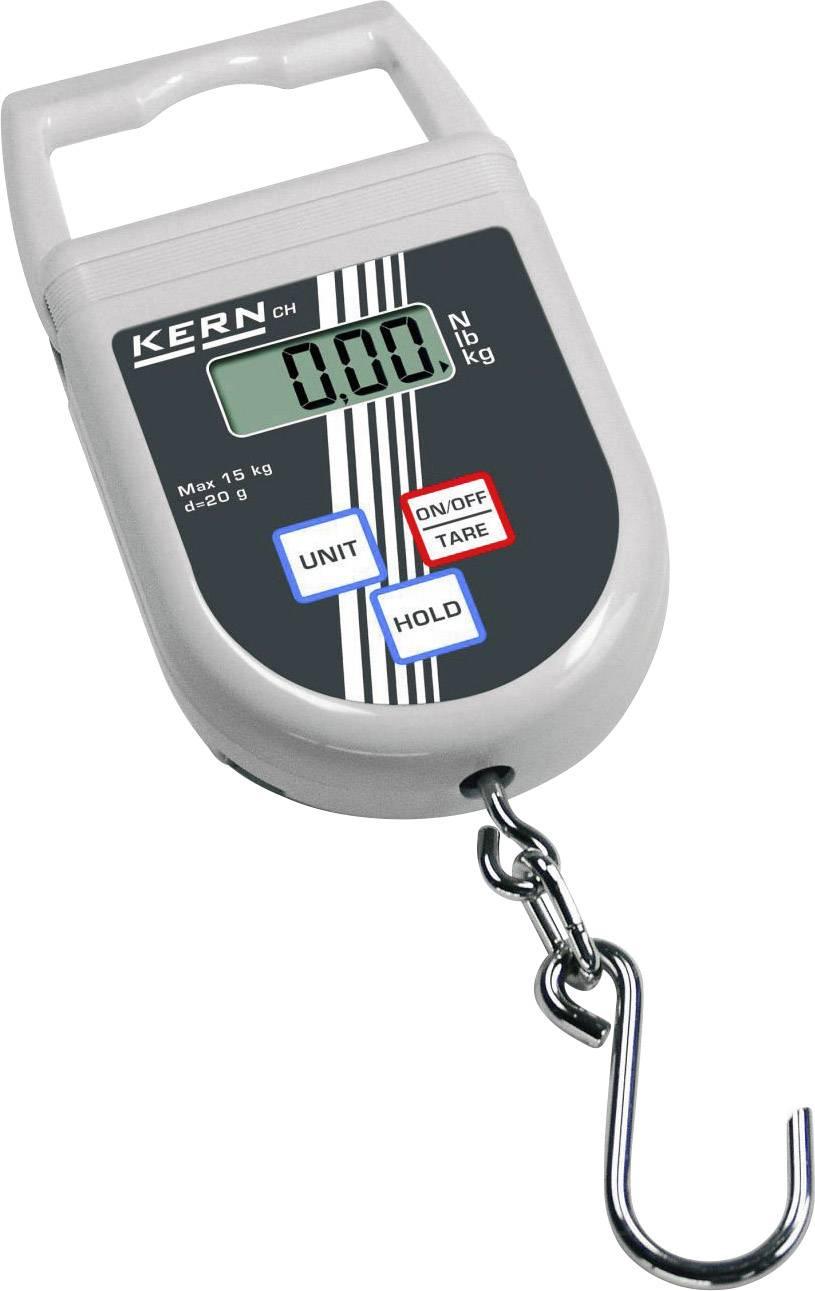 Závěsná váha Kern Max. váživost 50 kg Rozlišení 100 g