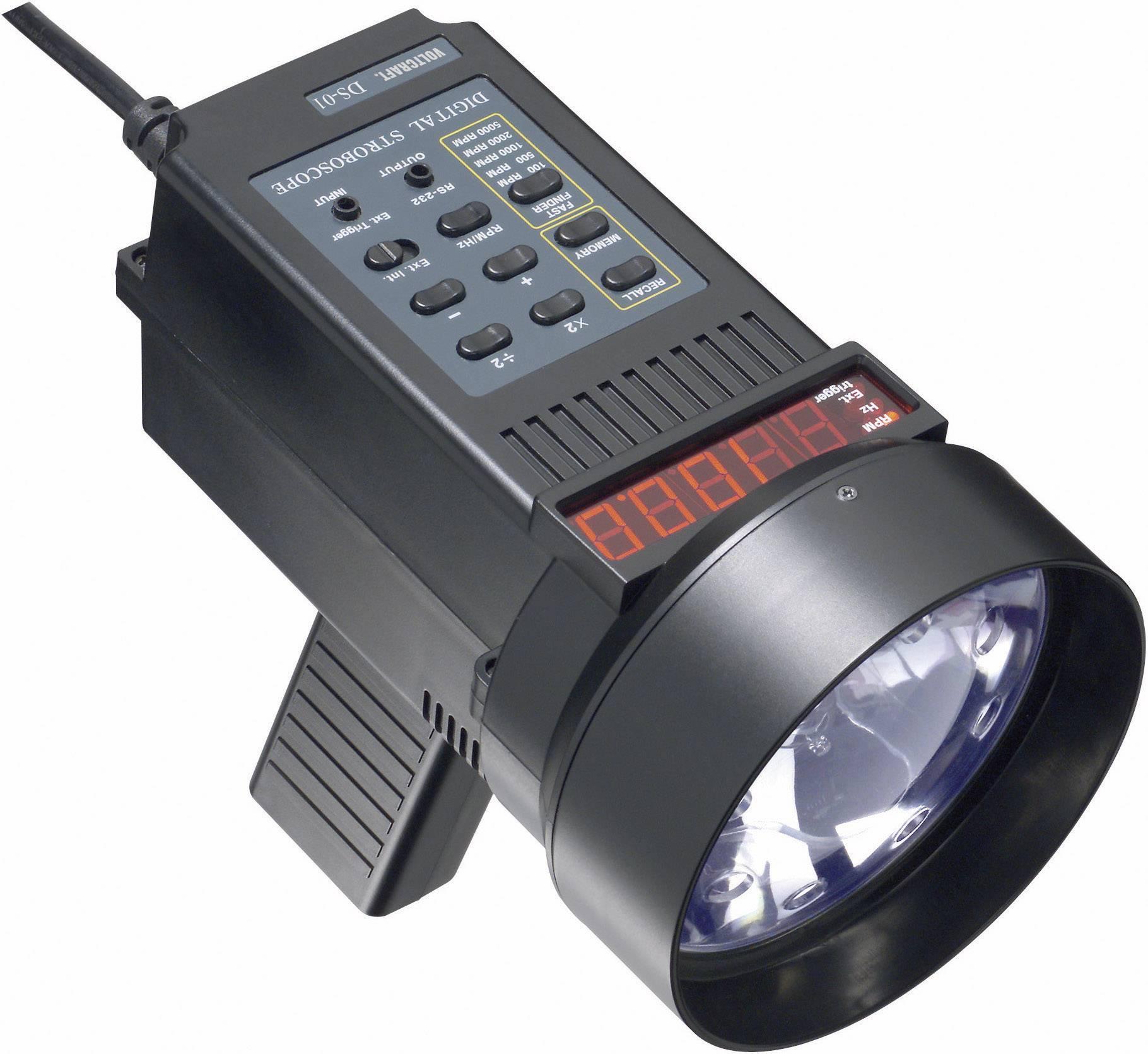Digitálny stroboskop Voltcraft DS-01