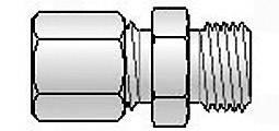 Svorkové skrutkové spojenie B+B Thermo-Technik, M8x1 Ø 1,1 mm, do 800 °C