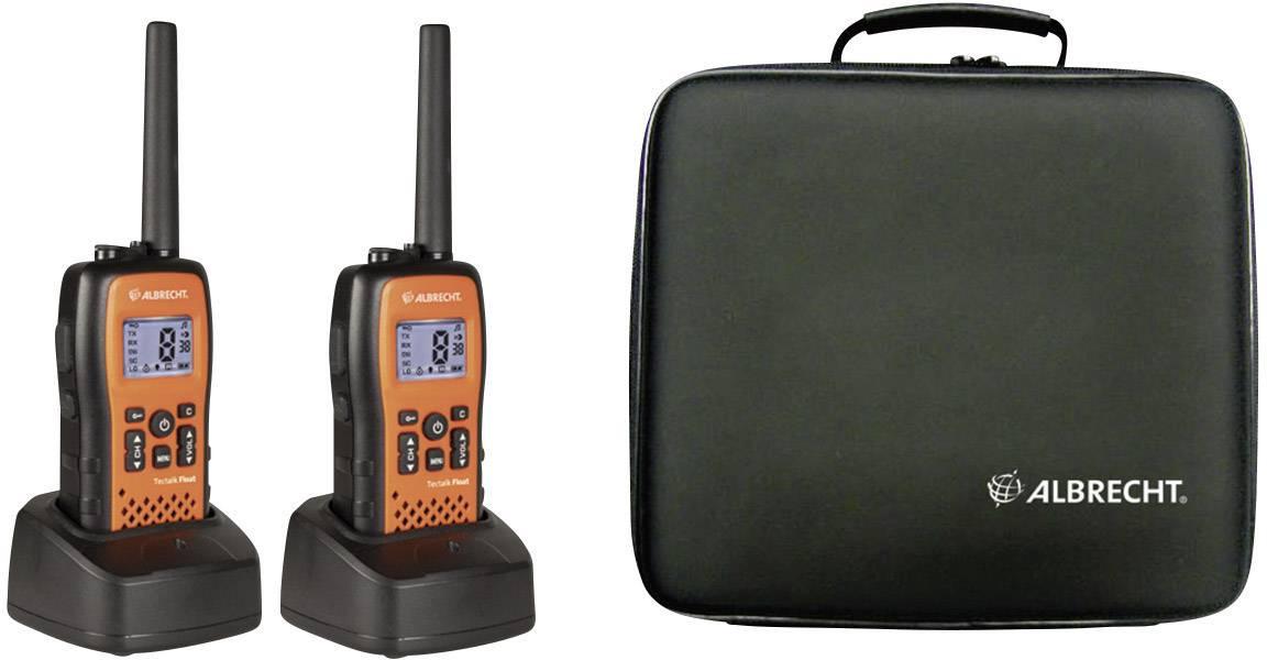 PMR radiostanice Albrecht Tectalk Float 29661, 2 ks, kufřík