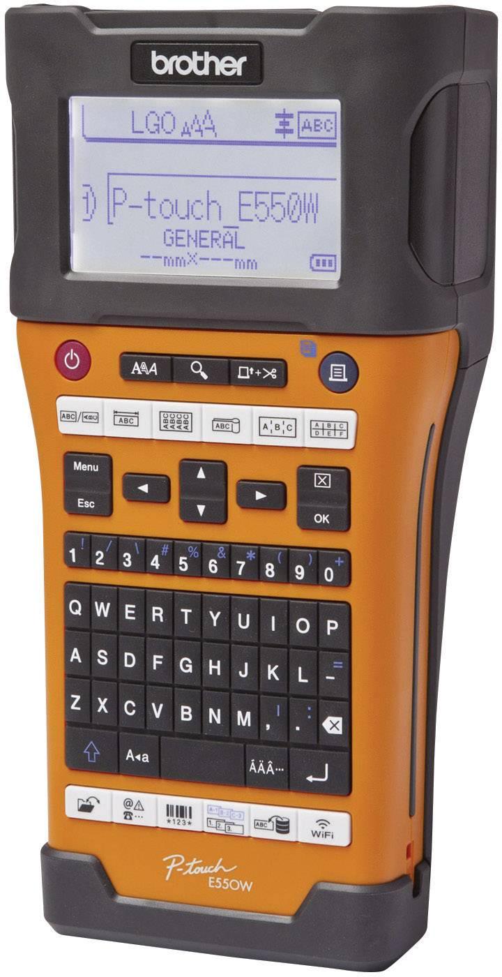 Štítkovač Brother P-TOUCH E550WVP vhodné pro pásky: TZ, Hse