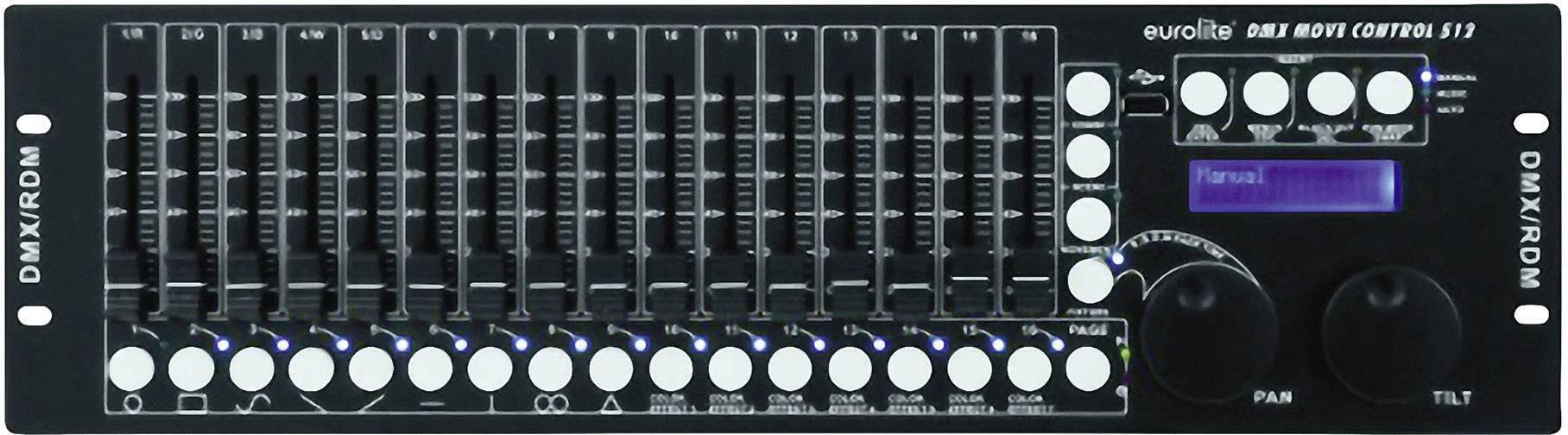 DMX kontrolér Eurolite DMX Move Control 512