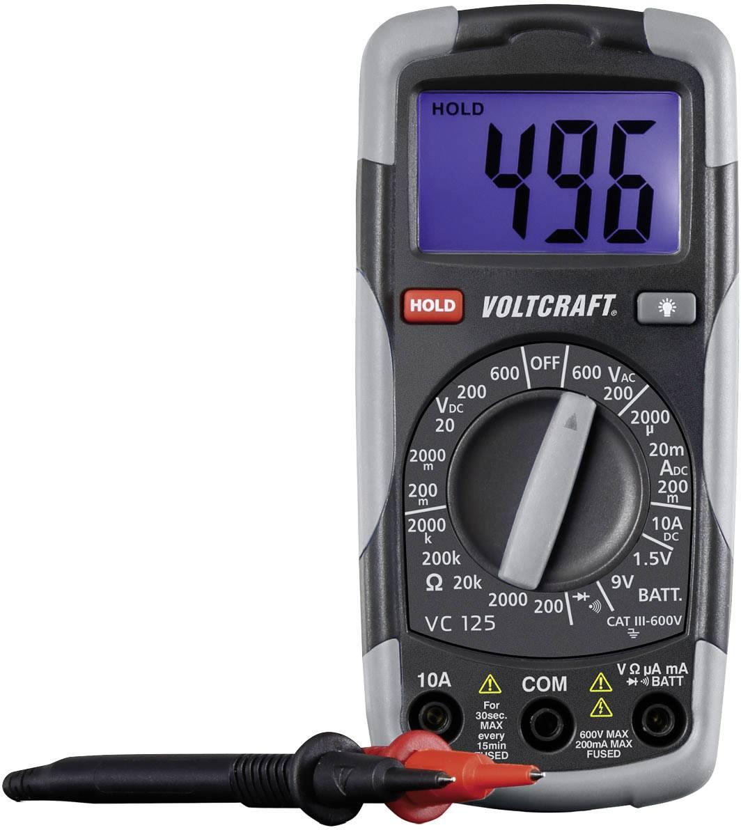 Digitální multimetr a zkoušečka Voltcraft DT-TEST-KIT 150