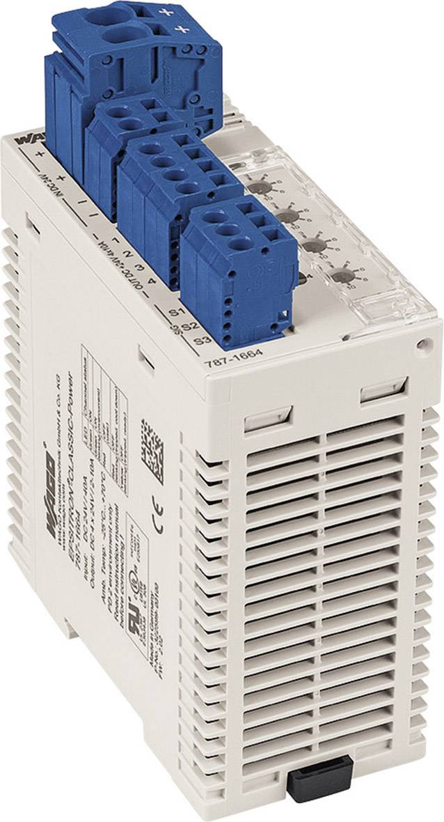 Elektronický ochranný istič WAGO EPSITRON 24 V / DC 6 A 2 x
