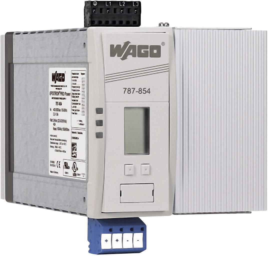 Síťový zdroj na DIN lištu WAGO EPSITRON, 4 x, 24 V/DC, 40 A