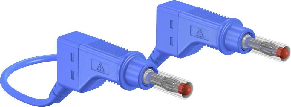 Merací kábel Multicontact xZG410, 600 V, dĺžka 2 m, modrý