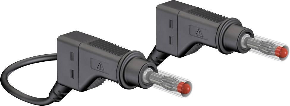 Merací kábel Multicontact xZG410, 600 V, dĺžka 0,5 m, čierny