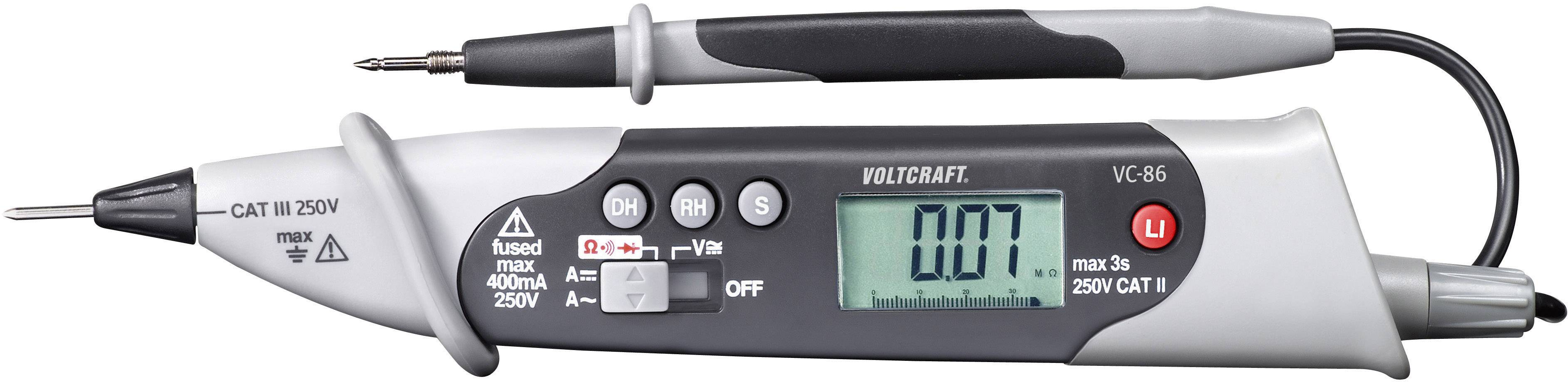Digitálne/y ručný multimeter VOLTCRAFT VC86