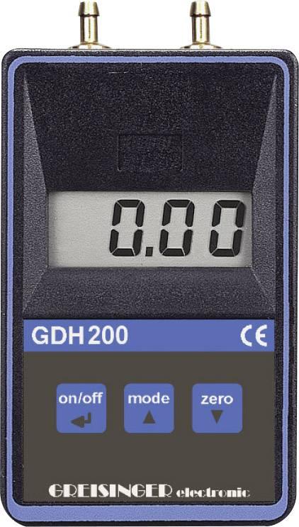 Presný digitálny manometer Greisinger GDH 200-07