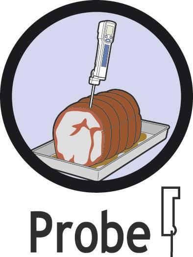IR teplomer Fluke FoodPro Plus, -35 až +275 °C