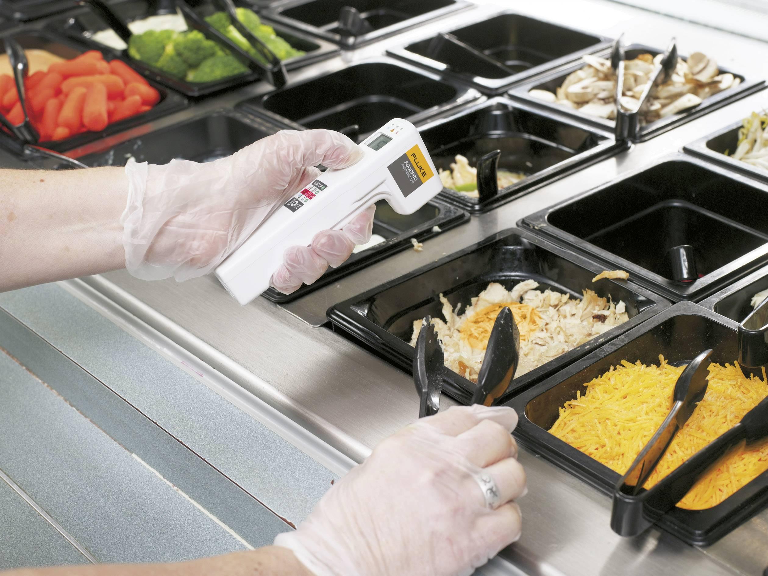 IR teplomer Fluke FoodPro, -30 až +200 °C