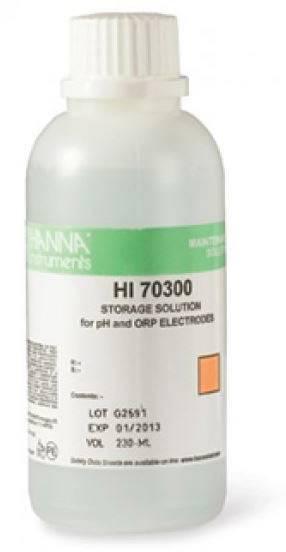 Konzervační roztok na elektrody pro měření pH HI 70300M