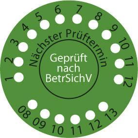 Samolepiace etikety pre Gutbewertung Fluke Pass560R