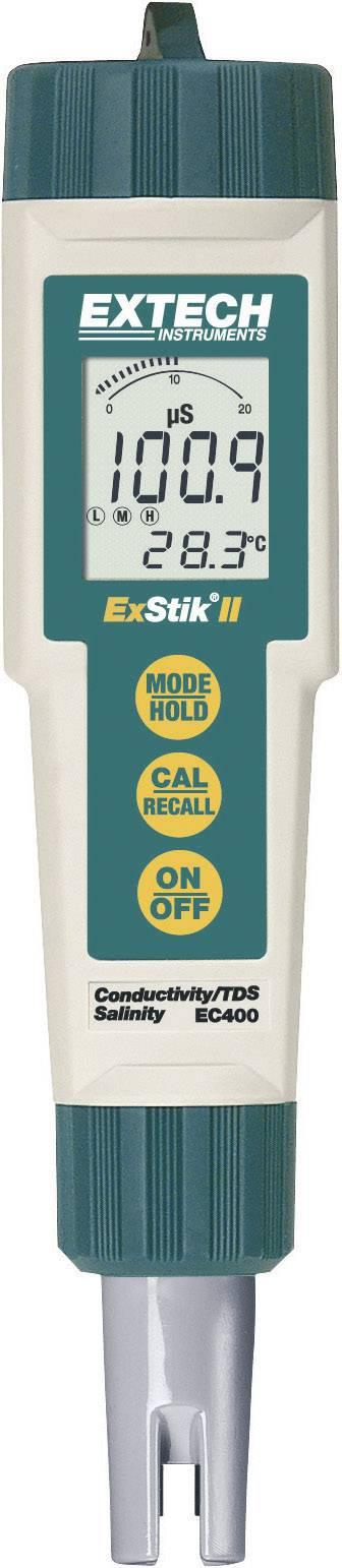 Měřič vodivosti, TDS, obsahu soli a teploty kapalin Extech ExStik EC400