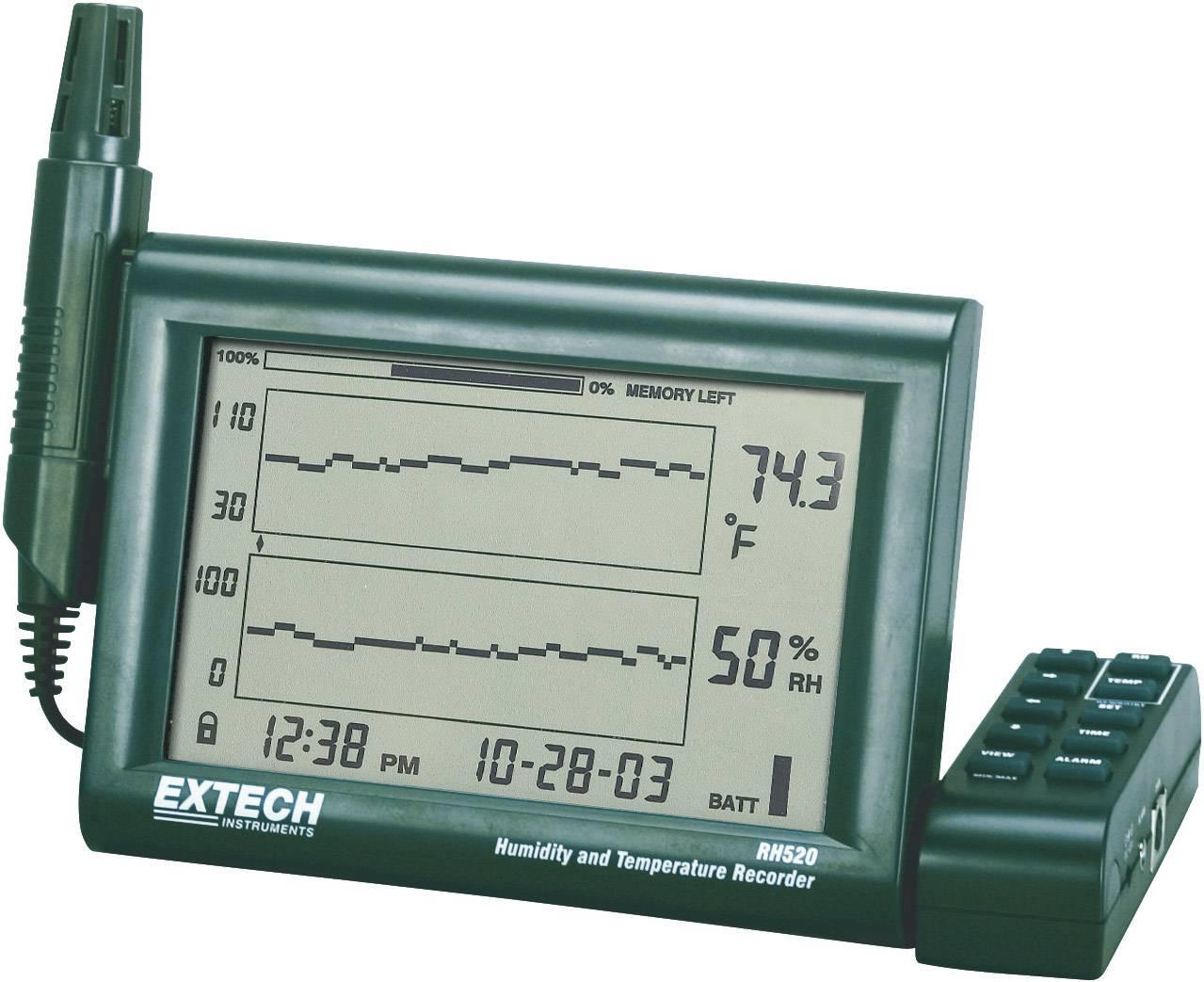 Datalogger pre záznam teploty a vlhkosti Extech RH-520A