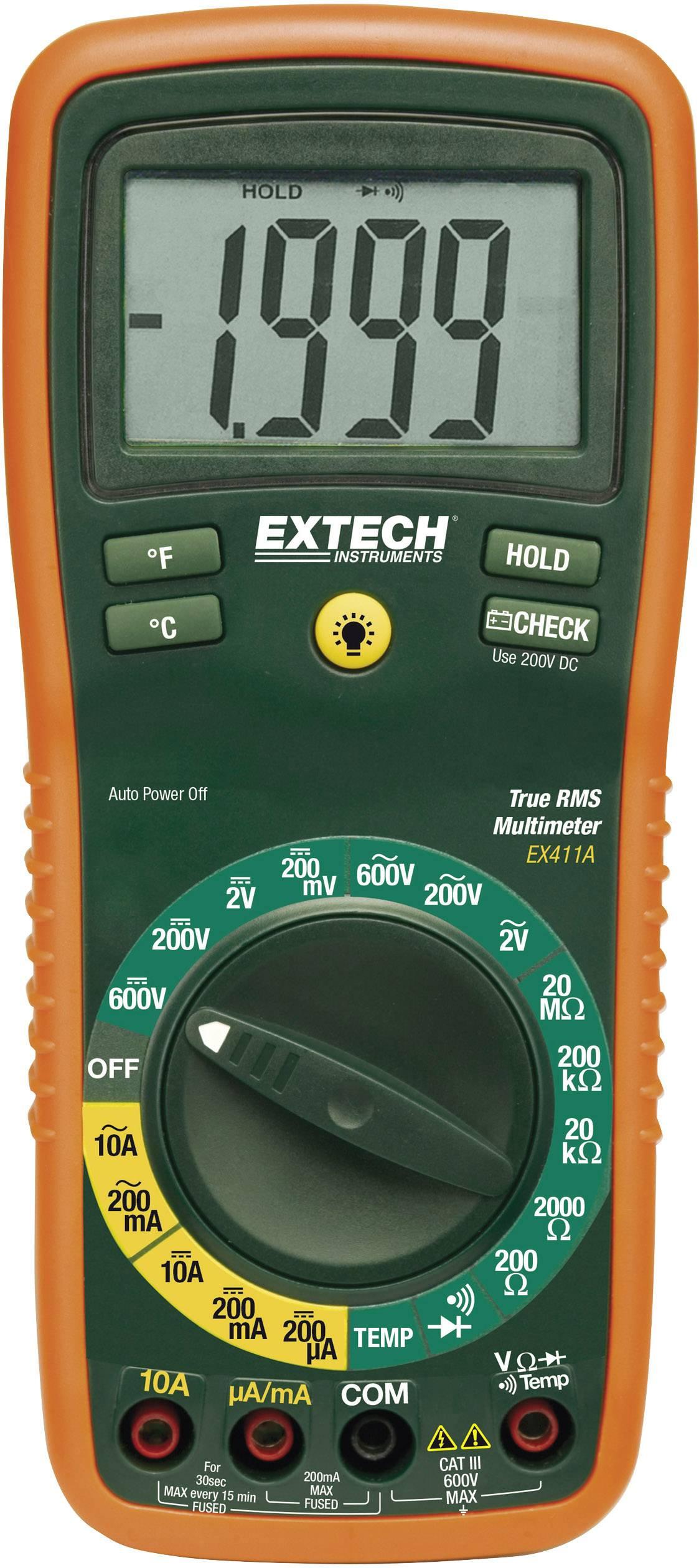Digitálne/y ručný multimeter Extech EX411 EX411A
