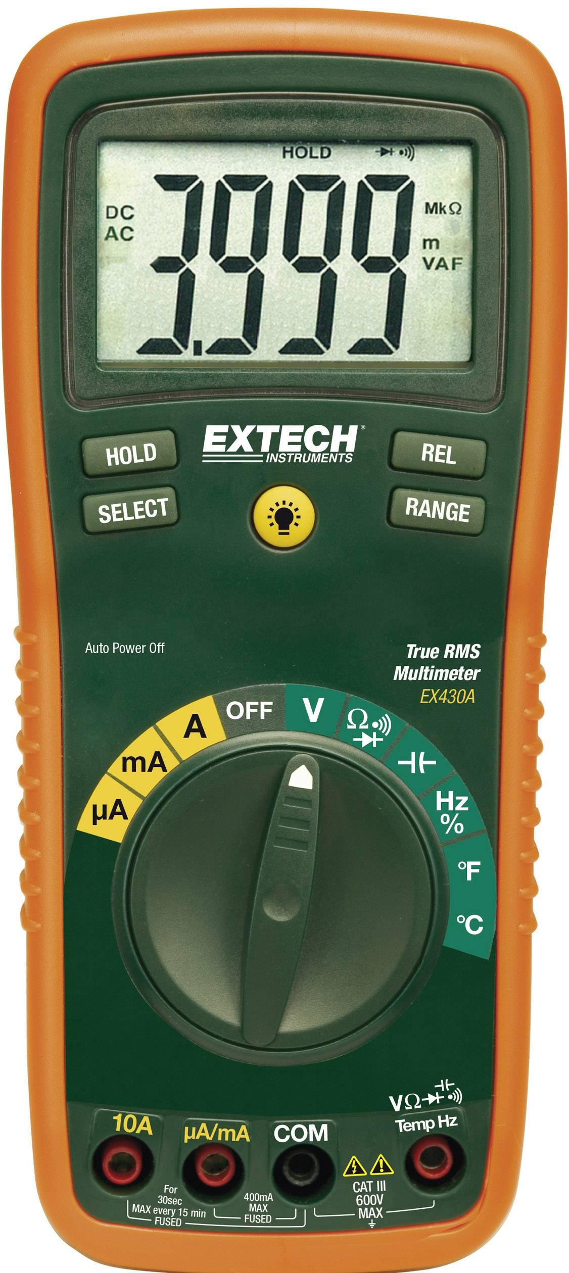 Digitálne/y ručný multimeter Extech EX430A EX430A
