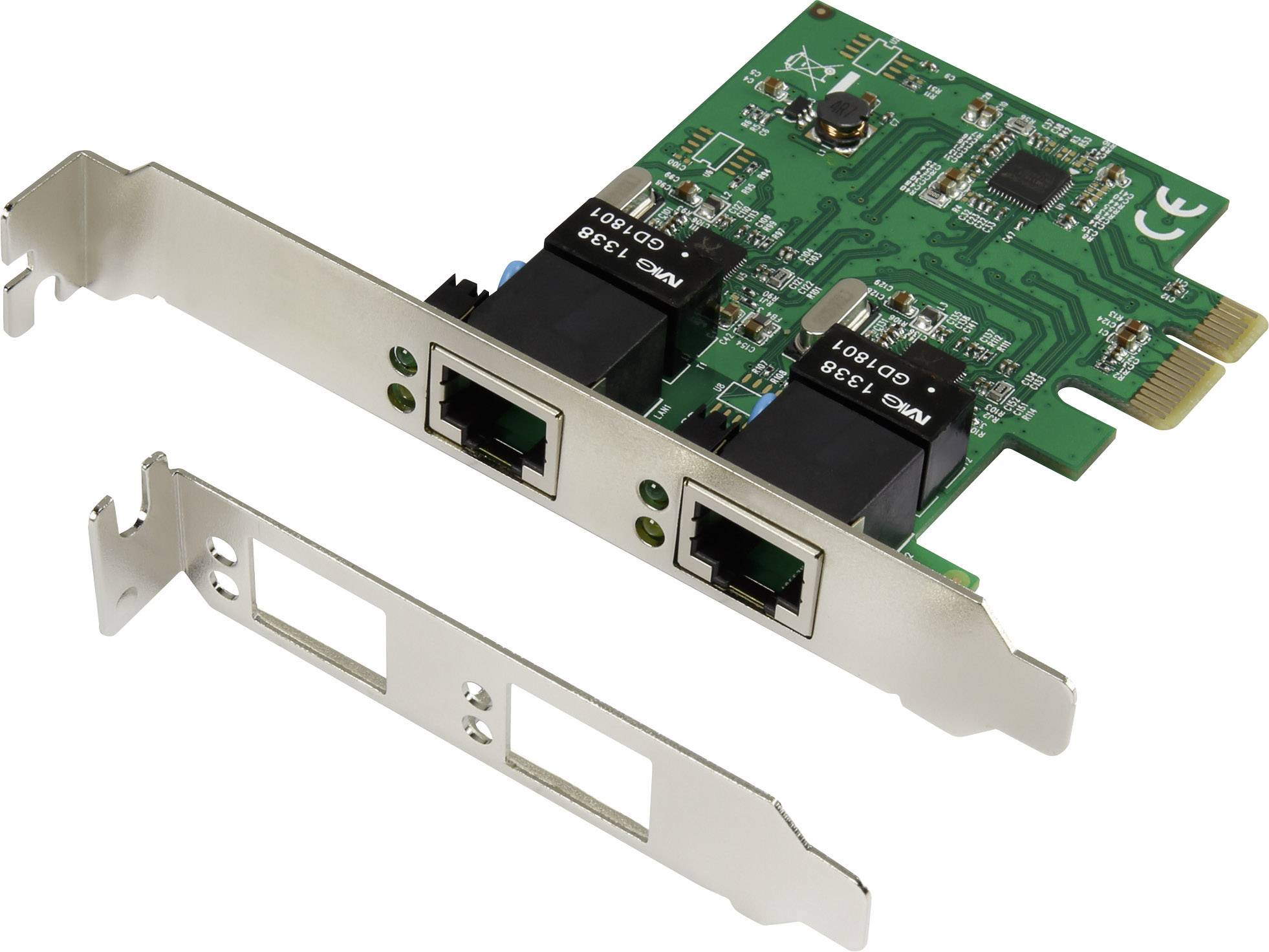 Sieťová karta Renkforce, 1000 MBit/s, LAN (10/100/1000 MBit/s)