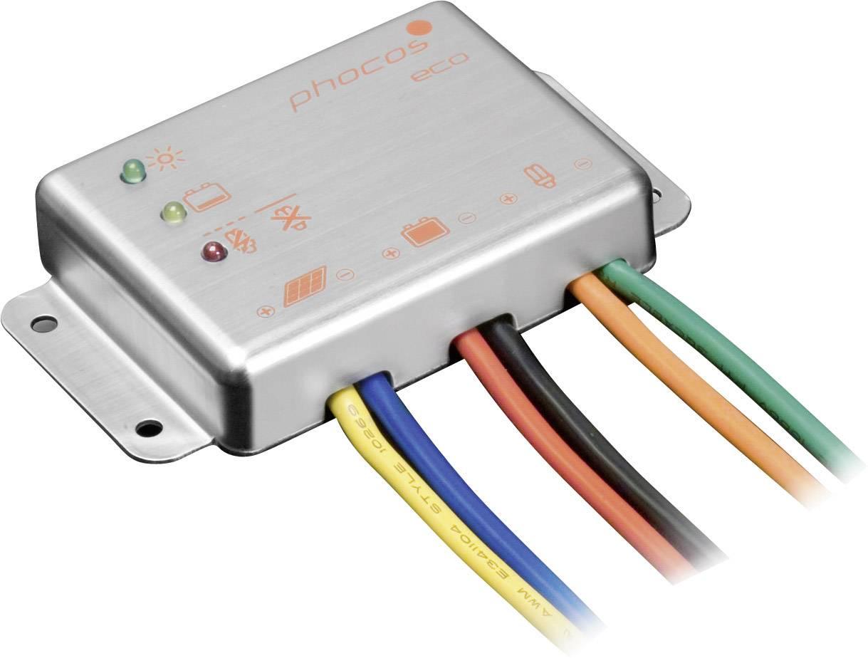 Solárny regulátor nabíjania Phocos eco 10 321199, 12 V
