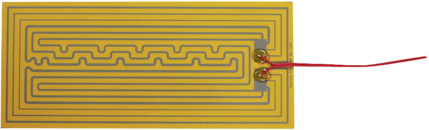 Tepelná fólia samolepiaci Thermo 2115340, 12 V/DC, 12 V/AC 25 W Spôsob ochrany IPX4, (d x š) 320 mm x 140 mm